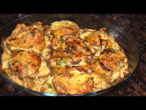 gratin-pomme-de-terre-farci-au-poulet--oum-walid-غراتن-بطاطة-مع-صدر-الدجاج-ولا-الذ-غيّر-جربوها