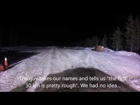 Ice Road Adventure from Barrie To Moose Factory