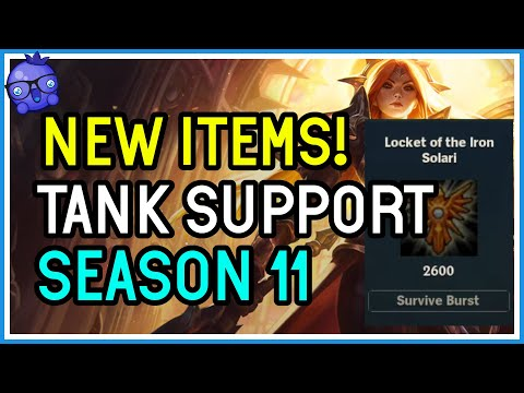 NEW SUPPORT TANK ITEMS for Season 11 – League of Legends