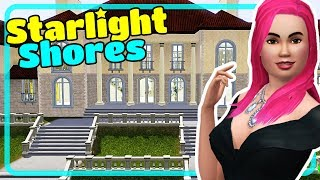 The Sims 3 Starlight Shores Town - House Tours from Showtime Expansion Pack EP Episode 3
