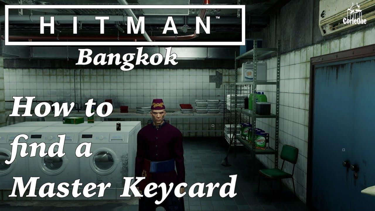 hitman bangkok camera room keycard