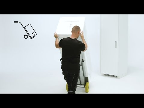 How To Install Your Electrolux Fridge Sliding Door - Column Installation