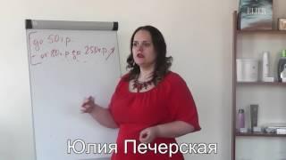 Тренинг Юлии Печерской про доходы мужчин: с кем нельзя заниматься сексом
