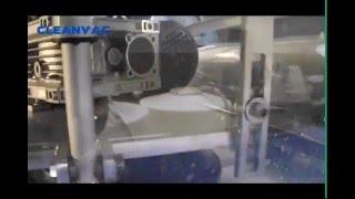 cleanvac brs 260 c compact automatic carpet washing machine