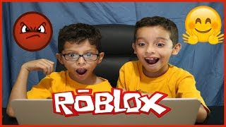 OUR FIRST TIME PLAYING ROBLOX || THE IVAN & JARED SHOW