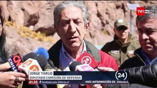 Diputados Chilenos Visitan rio Silala (08-09-2016)