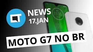 Moto G7 no Brasil em fevereiro; Galaxy S10 com dois furos na tela e + [CT News]