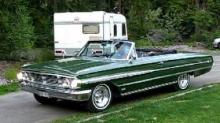 1964 galaxie convertible 390 eng aut chris at lisselbo visiting