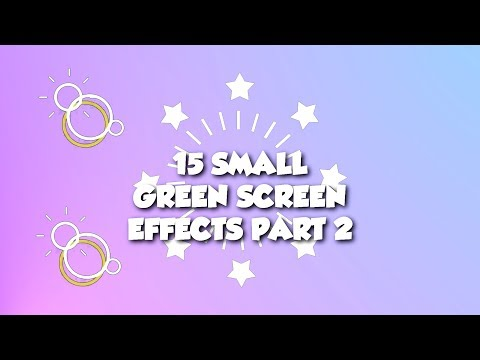 ✴️ 15 Small Green Screen Effects Part 2 | Bursts | Fireworks | Stars | Shapes