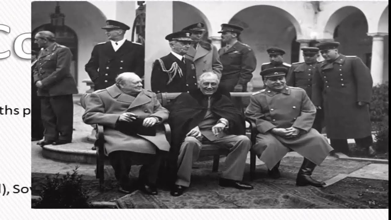Apush Review Important World War Ii Conferences Youtube