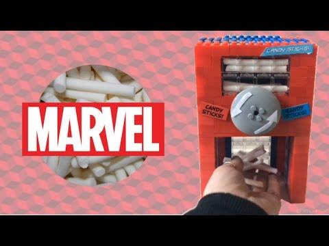 LEGO MARVEL Candy Stick Candy Machine