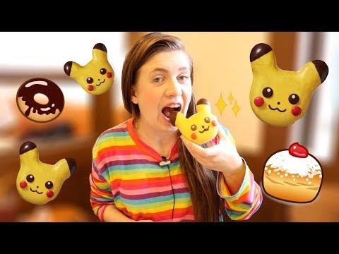 סופגניות פיקאצ׳ו Mister Donut