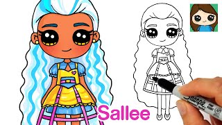 How to Draw Hairdorables Doll | Steampunk Sallee