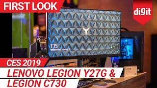 CES 2019: Lenovo Legion Y27G & Legion C730 First Look | Digit.in