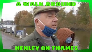 A walk around HENLEY ON THAMES - Oct 2020