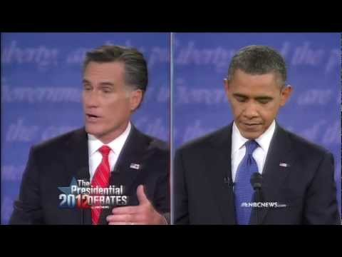 Romney and Obama Debate Regulation of Wall Street, Economic Crisis, Dodd Frank
