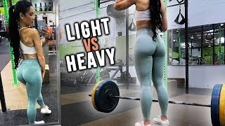 High Reps Or Low Reps Better For Lower Body? | Training & Life Update thumbnail