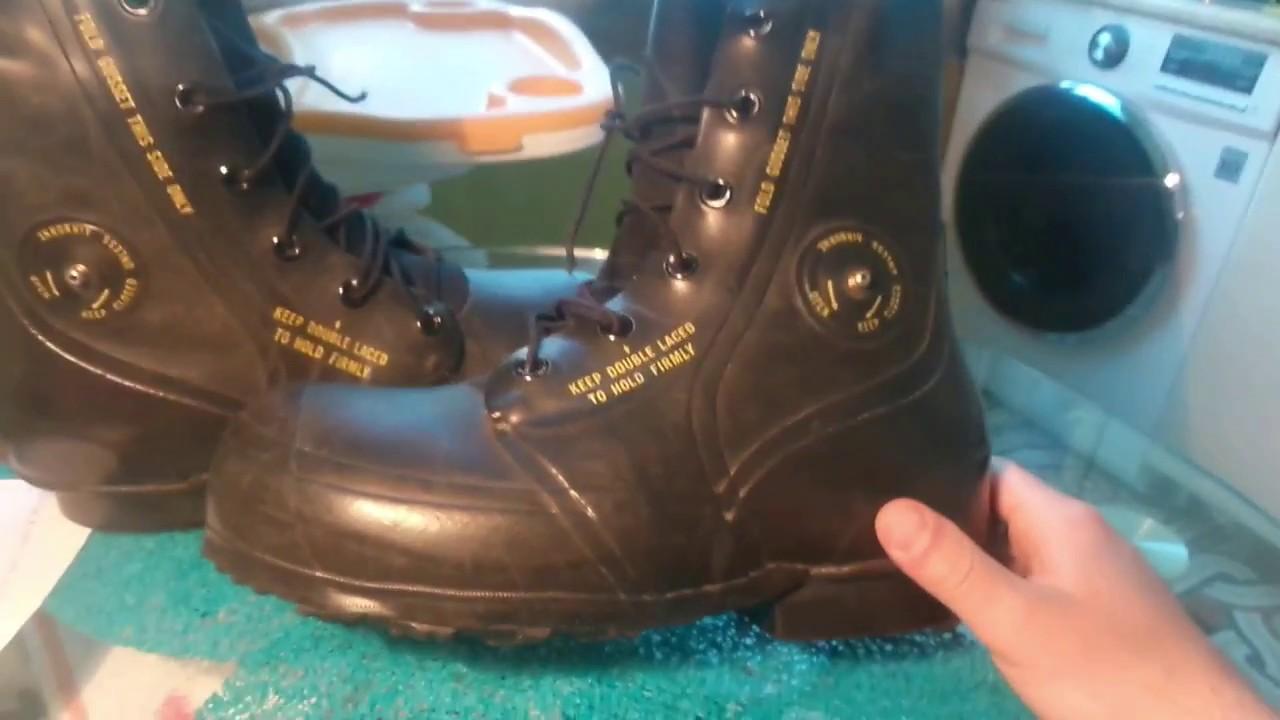 Посылка с AliExpress # 15 - Американские армейские ботинки - YouTube
