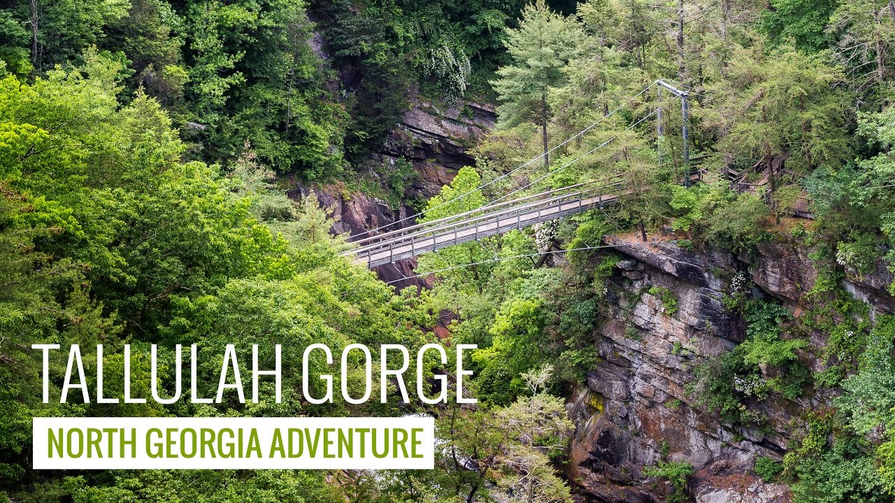 Tallulah Gorge State Park Hiking To Stunning Views And Thundering