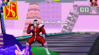 Captain Falcon vs. Blood Falcon M.U.G.E.N