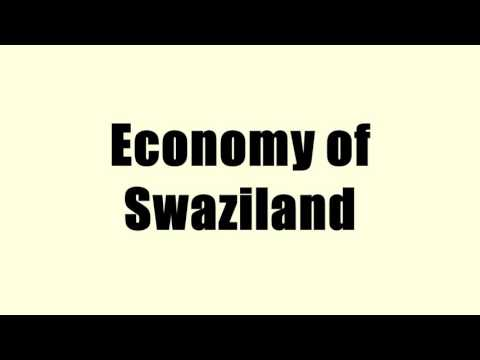 Economy of Swaziland