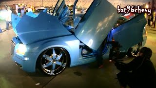 CRAZY CUSTOM Chrysler 300 Bagged on 24's - 1080p HD