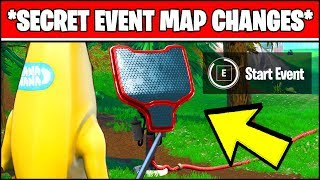 *NEW* SECRET FORTNITE MAP CHANGES FOR SEASON 10 EVENT (AFTER THE BATMAN EVENT)