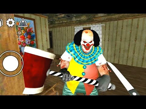 Horror Clown Pennywise - Scary Escape Game - Full Gameplay Walkthrough Ghost Mode (Android)