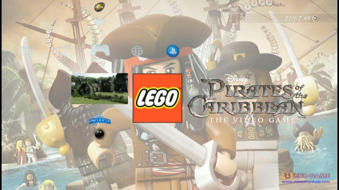 Leg Pirates of the Caribbean PS3 PKG