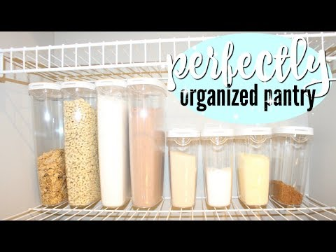 ORGANIZE AND DECLUTTER WITH ME 2017 // DOLLAR TREE PANTRY ORGANIZATION // DECLUTTER!