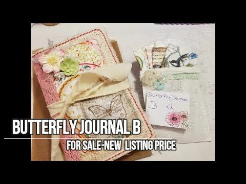 """Butterfly Journal """"B: For Sale"""