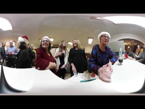 Greater KW  Chamber of Commerce 360 view of Holiday Open House
