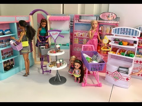 Barbie GROCERY Store!