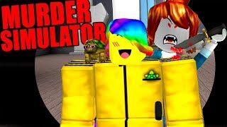 ROBLOX MURDER SIMULATOR *NEW BEST MURDER GAME!*