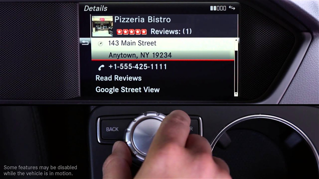 mbrace Apps -- How To: Yelp -- Mercedes-Benz USA Owners Support