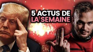 Trump menacé, Jul perturbé, étudiants et précarité, Bolivie, hôpitaux.. 5 actus de la semaine