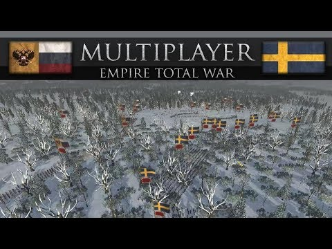 The Russian Bear in the Swedish Forest (Empire Total War Online Battle #251)