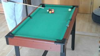 Billard Table Clearence on a small pool table #1