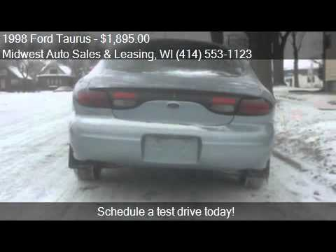 1998 Ford Taurus SE 4dr Sedan for sale in Milwaukee, WI 5321