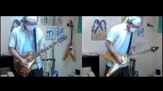 HelloweenのBurning sunを弾いてみた【すみす】