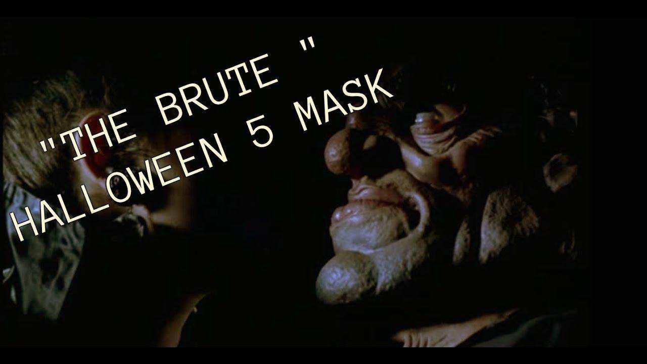 quotthe brutequot halloween 5 mask youtube