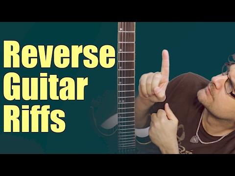 Reverse Guitar Riff Challenge