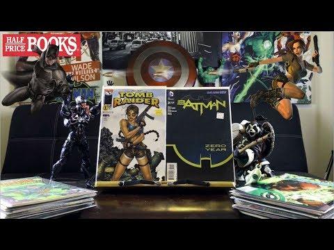 Half Price Books Comic Book Haul 98 | Comic Book Raiding!