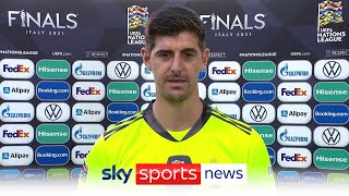 Thibaut Courtois criticises UEFA and FIFA over match schedule after Nations League play-off defeat