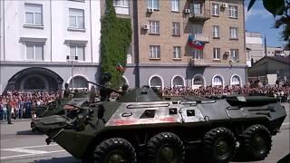 так отметили день победы в Луганске. 2016 год(Парад в честь дня Победы в Луганске,9 мая 2016 года., 2016-05-09T17:40:58.000Z)