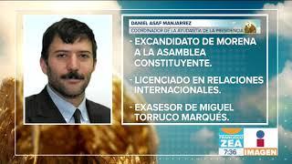 Daniel Asaf Manjarrez, la sombra de López Obrador | Noticias con Francisco Zea