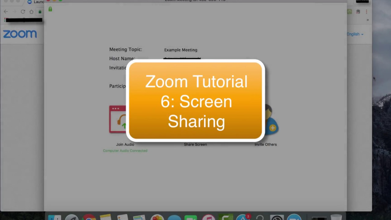 screen sharing with audio
