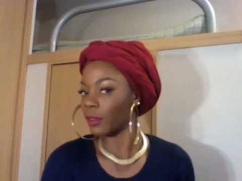 Quick And Easy Head Wrap Tutorial