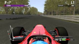 F1 2011 - PC - Lap @ Montreal (Xbox 360 Controller)