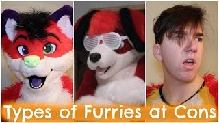 TYPES OF FURRIES AT CONS (w/ Beagle.in.red)